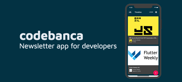 Codebanca - A newsletter app for developers and software engineers